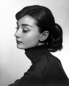 Audrey Hepburn by Yousuf Karsh. Caught his exhibit at the Art Gallery of Calgary, amazing pictures!