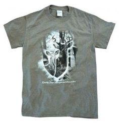 QDMA Mist T-shirt - Heather Moss