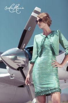 Vestido de Cocktail de Carla Ruiz 2012 - Modelo 86383