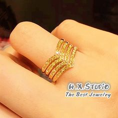 Yellow Diamond Wedding Ring in Yellow Gold, Yellow Diamonds Stack Eternity Band, Bridal sets Gold Ring Designs, Gold Bangles Design, Gold Earrings Designs, Gold Jewellery Design, Gold Jewelry Simple, Gold Rings Jewelry, Gold Bracelets, Wedding Rings Online, Diamond Wedding Rings