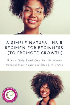A Simple Natural Hair Regimen for Beginners (to Promote Growth)