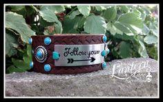 Custom Leather cuff