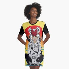'PeanutButterJam' Graphic T-Shirt Dress by I Dress, Shirt Dress, T Shirt, Designer Dresses, Tank Man, Printed, Awesome, Casual, Mens Tops