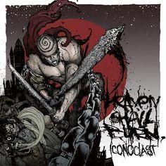 "L'album degli #HeavenShallBurn intitolato ""Iconoclast (Part one: The final resistance)""."