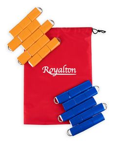 """BLUE Flag-a-Tag Sonic Boom Football Set 1 Single REPLACEMENT BELT 42/"""" Waist"""
