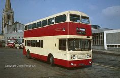 Plymouth CT, Leyland Atlantean No 218 (FJY 918E) in Plymouth Bus Station on 11th September 1982 by Lady Wulfrun, via Flickr