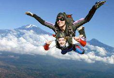 Skydiving! It's gotta happen! Preferably before I start a family haha
