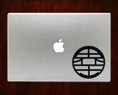 "Dragon Ball Z Kai symbols Decal Sticker Vinyl For Macbook Pro/Air Decal Sticker Vinyl For Macbook Pro Air 13"" Inch 15"" Inch 17"" Inch Decals"