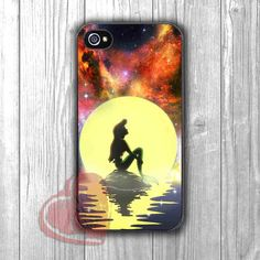 Ariel Mermaid and Beautiful Sky - zd for iPhone 4/4S/5/5S/5C/6/6+s,Samsung S3/S4/S5/S6 Regular/S6 Edge,Samsung Note 3/4