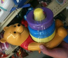 Winnie the Pooh Stacking Ring Toy - Ma soeur avait ce jouet