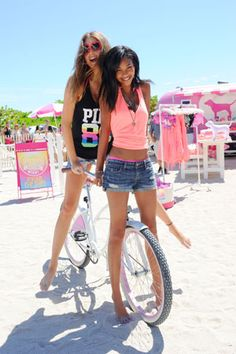White & pink beach bike! Can't find it anywhere. :(