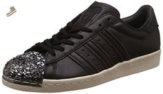 Adidas - Superstar 80S 3D MT W - BB2033 - Color: Black-Silver - Size: 5.5 - Adidas sneakers for women (*Amazon Partner-Link)