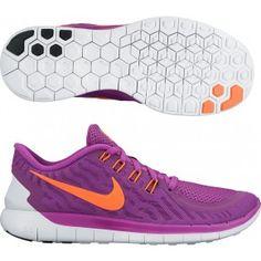 Nike Free 5.0 Shield W Laufschuhe Damen Grau Pink