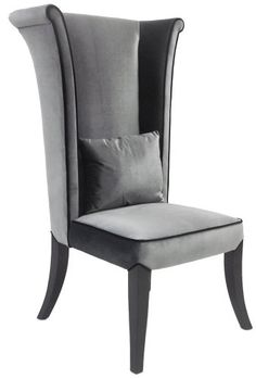 Add a touch of whimsy to your dining room decor with the Armen Living Mad Hatter Rich Velvet Dining Chair . This fun and beautiful dining chair has. Wingback Accent Chair, Velvet Accent Chair, Chair Upholstery, Accent Chairs, Wingback Chairs, Chair Fabric, Upholstered Chairs, High Back Chairs, Side Chairs