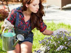 Ocet pomáhá nejen v domácnosti. Oceníte ho i na zahradě Gardening Tips, Board, Composters, Sign, Planks