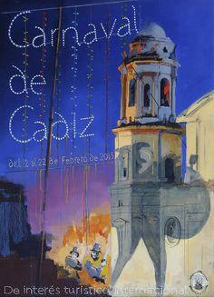 Cartel Carnaval de Cadiz año 2015
