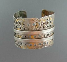 Silver With Holes An
