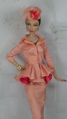Corallium for Silkstone Barbie and Victoire Roux OOAK Doll Fashion
