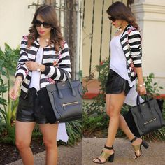 Céline Bag, Zara Shoes, Forever 21 Shorts