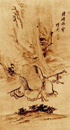 (Korea) by Kim Hong-do. aka Danwon. ca 18th century CE. Joseon Kingdom, Korea.