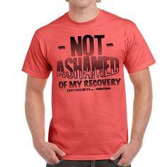 PRE-ORDER ALERT!! SITE PRICES LOWERED!! New NOT ASHAMED OF MY RECOVERY tee available now at: http://ift.tt/2wOMHdu   Or go to SubstanceForYou.com / Click link in bio to redirect faster if on phone!   #recoveryispossible #sober #soberlife #sobriety #sobermovement #Soberissexy #partysober #recovery #vlog #vlogger #videoblog #blog #blogger #addictionrecovery #recoveryroad #alcoholicsanonymous #mentalhealth #drugfree #eatingdisorders #advocate #bullying #selfhelp #author #awareness #clean…