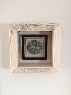 Reclaimed Wood Box Shelf / Wall Hanging on Etsy, $60.00