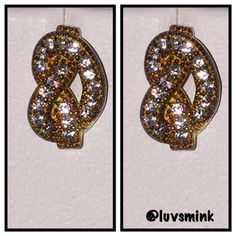SPARKLE EARRINGS Sparkle and shine in these 18k gold vermeil post earrings; 1 carat TW zirconia, NWT, and in lovely padded Ivory and gold box.  No trades. Crisli Jewelry Earrings