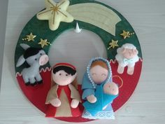 Best 12 pixel – Page 483503709989943663 Christmas Craft Fair, Felt Christmas Ornaments, Christmas Nativity, Holiday Crafts, Faith Crafts, Xmas Wreaths, Xmas Decorations, Creations, Pinterest Diy