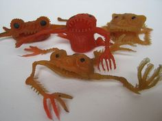 OMG! I remember these! Old rubber toys 1970's. We used them as finger puppets!