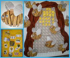 παιχνιδοκαμώματα στου νηπ/γειου τα δρώμενα: μέλισσες και μελισσοκόμος !!!!! Bee Crafts, Spring Crafts, Activities For Kids, Projects To Try, Collage, Blog, Mini Beasts, Summer Ideas, Education