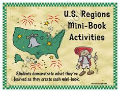 U.S. Regions Mini Booklets - All Six Regions Printable Worksheets from The Trail 4 Success on TeachersNotebook.com (30 pages) $15 for all 6 regions. Would love to use as testing for my US geography unit