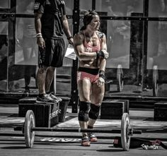 crossfitters:  Stacie Tovar. Photo by Josh Mirone.