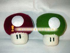 Setas de Mario Bross, hechas a mano Mario, Stuffed Mushrooms, Beanie, Character, Arrows, The Creation, Stuff Mushrooms, Beanies, Lettering
