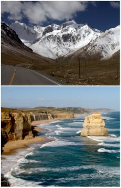 10 Roadtrips to take before you die... via Travel Mindset #roadtripping