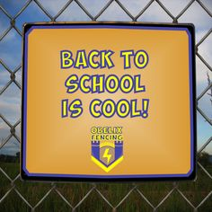 And with that... the summer holiday is done! Obelix Fencing would like to wish all the Fencing children out there a Fantastic Fencing First day back at school! For all of your fencing needs email us at eugene@obelixfencing.co.za  #schoolfence #sportsfield Gate Motors, Barbed Wire, Fencing, School, Children, Holiday, Summer, Young Children, Fences