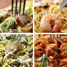 Spaghetti 4 Ways by Tasty
