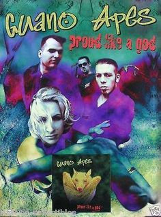 Guano Apes 1997 Proud Like a God Original Promo Poster