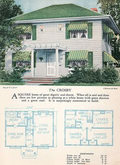 1928 Home Builders Catalog - The Crosby