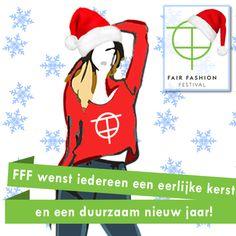 Het team van het Fair Fashion Festival 2014 wenst iedereen een eerlijke kerst en een duurzaam nieuw jaar!