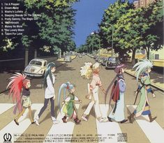 The girls from Tenchi Muyo, etc. - in my humble opinion, the coolest anime series of all time.  It is funny as hell, and I love the characters!