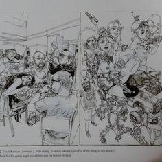 680 отметок «Нравится», 3 комментариев — Frederic Van Geeteruyen (@superani.insta) в Instagram: «@katsuyaterada and @kimjung_gi An amazing illustration book! Available worldwide! #kimjunggi…»