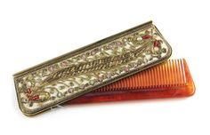 Comb Case On Pinterest Cases Rat Tail Comb And Antique