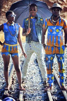 Summer is dedicated to African prints
