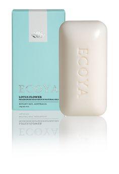 ECOYA Soap - Lotus Flower  http://www.ecoya.com/