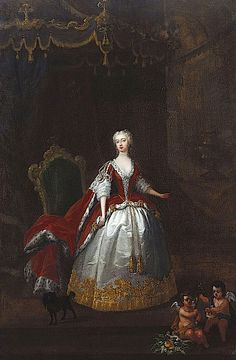 1736-1738 Augusta of Saxe-Gotha by William Hogarth