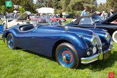 1956 Jaguar XK140, owned by Ernesto Ruelas