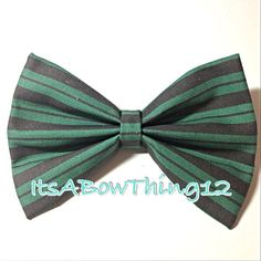 Disney's Haunted Mansion Maid Stripes Bow by ItsABowThing12, $4.00