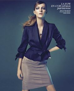 Alex Sandor by Nelson Simoneau for Marie Claire France January '13 #editorial #fashion #studio