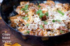 Crispy Baked Shrimp @FoodBlogs