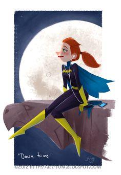 Batgirl Down Time - Jez Tuya
